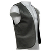 Leather waistcoat made of soft leather