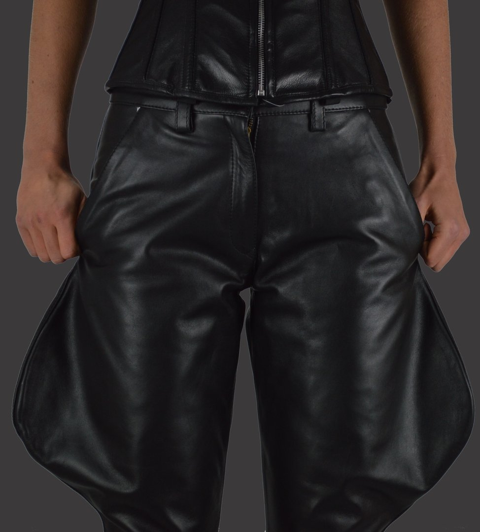 Leather Breeches aus Glattes Rindleder
