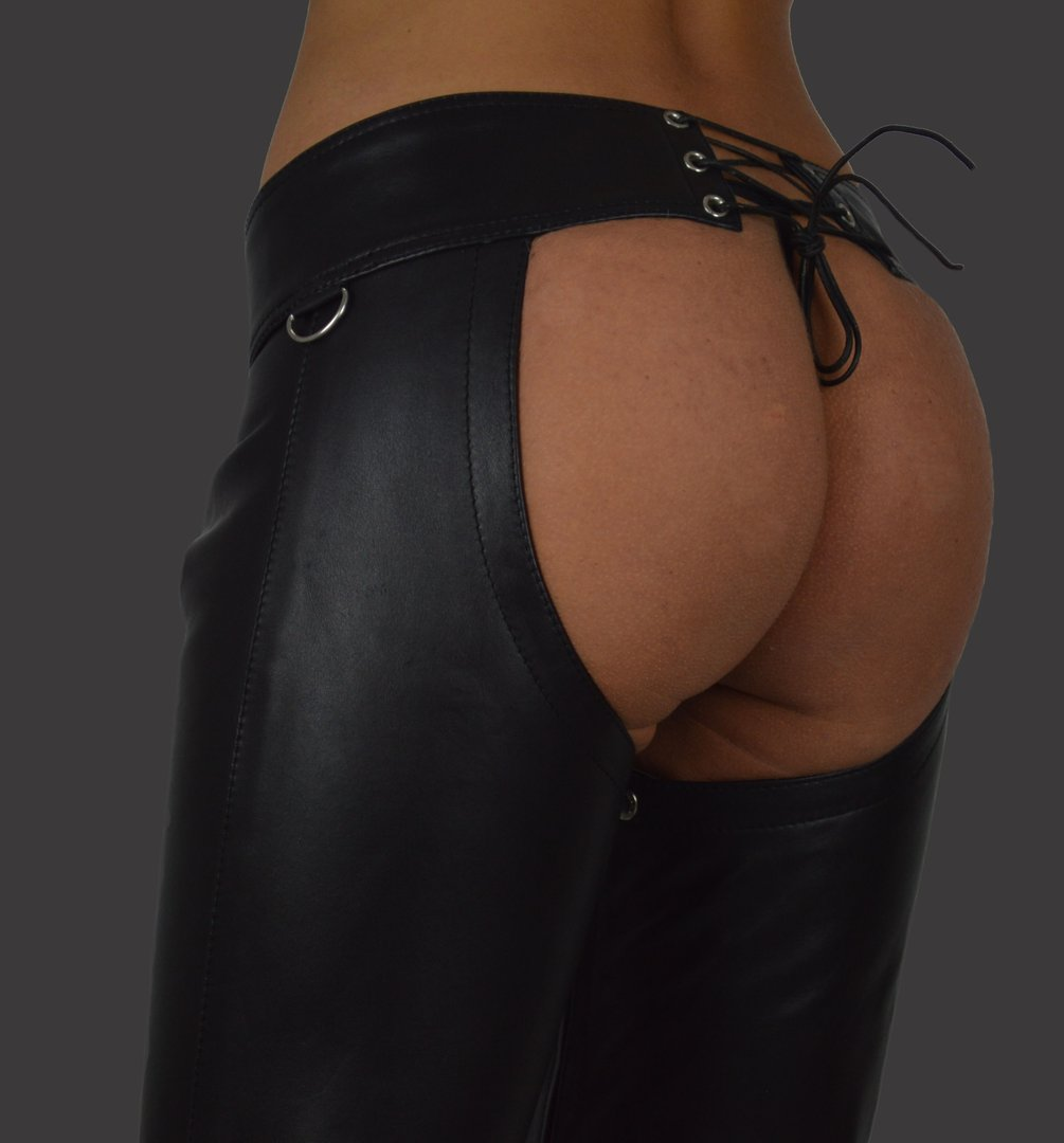 pictures of women in chaps