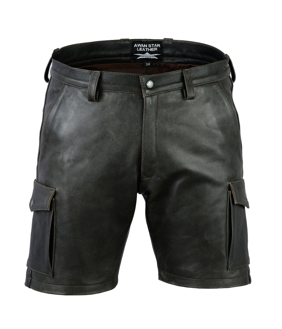 Antik Old Look Leder Gargoshorts