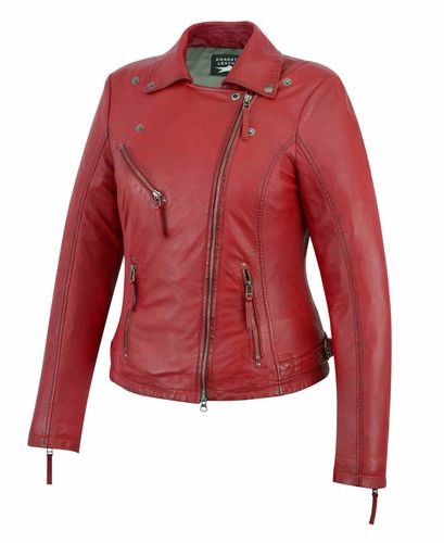 Made of soft Sheep Women leather jacket