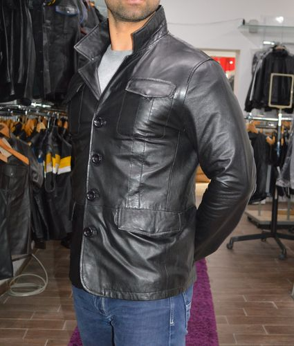 Best Quality Men leather jacket ,Made of soft  leather